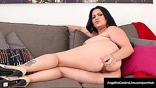 Kuba Angelina Castro Bates Gash-nya & patung Mayo-nya!