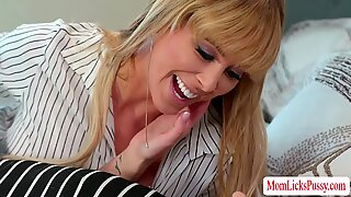 MILF Cherie and Emma loves pussy licking and fingering