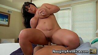 Indianna Jaymes adalah pelacur gemuk dengan pantat raksasa, coba lihat