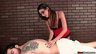 She Wants To Massage His Cock Her Way