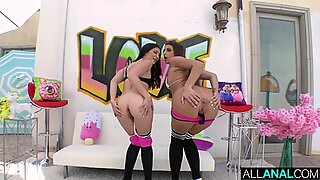 ALL ANAL Gapes gone wild with Gia Derza and Jane Wilde