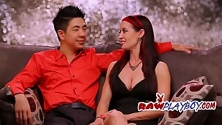 Asian dude fucks two girlfriends and behaves like a hardened male.