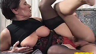 Granny Lovin' That Teen Cock